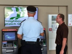 Police Multimedia Screen